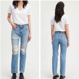 NWT Levi's 501 high rise straight leg 30x32